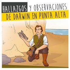Hallazgos y observaciones de Darwin en Punta Alta
